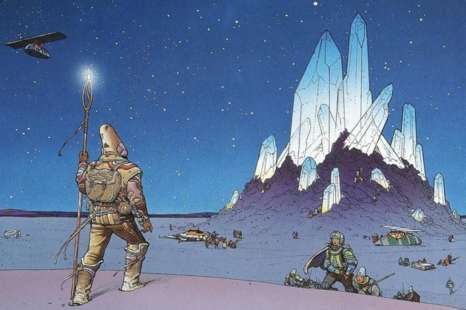 Moebius – How do you spell Arzach?