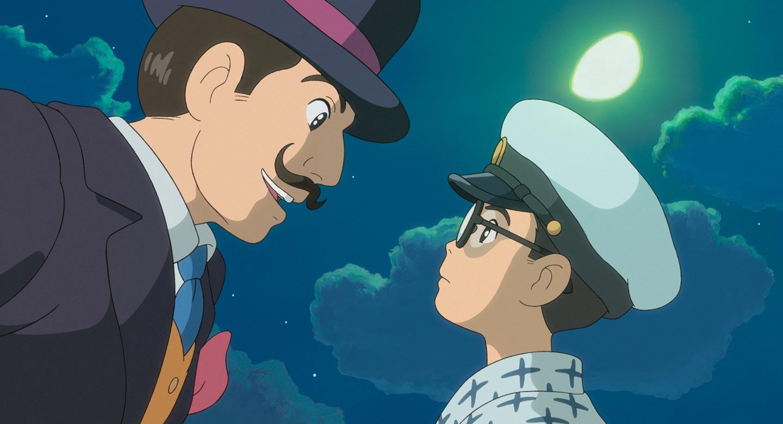 Risultati immagini per miyazaki si alza il vento