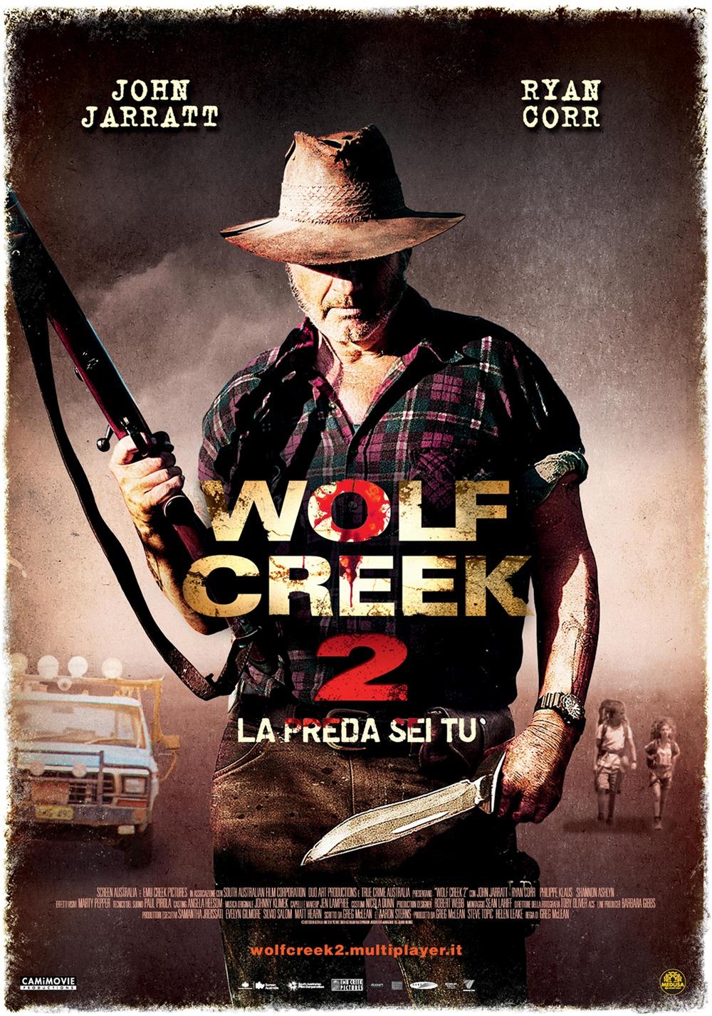 Wolf Creek 2 – La preda sei tu