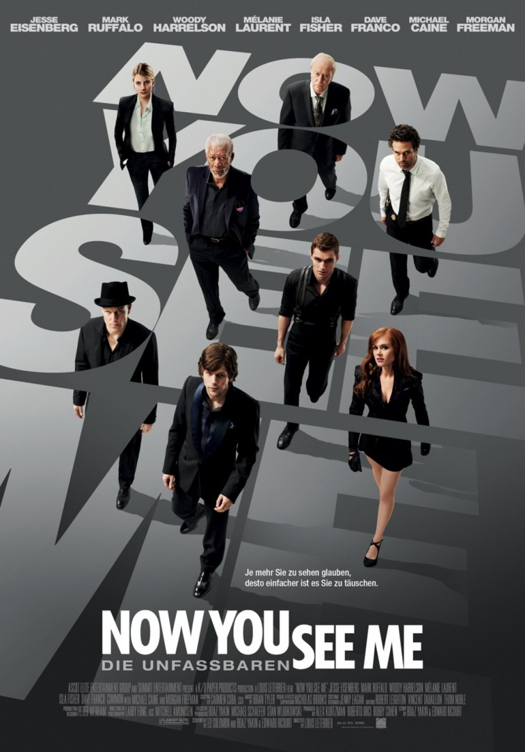Now You See Me – I maghi del crimine