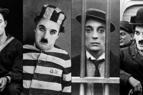 Chaplin e Keaton