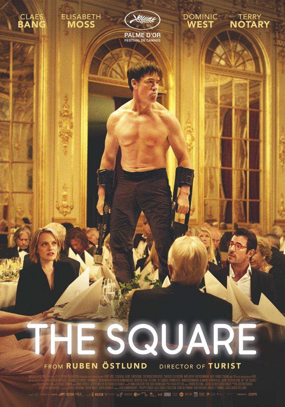 Risultati immagini per the square film poster ostlund