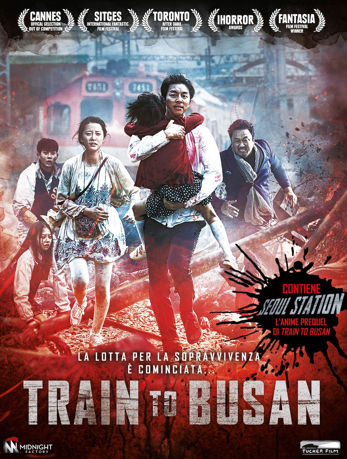 Train to Busan + Seoul Station