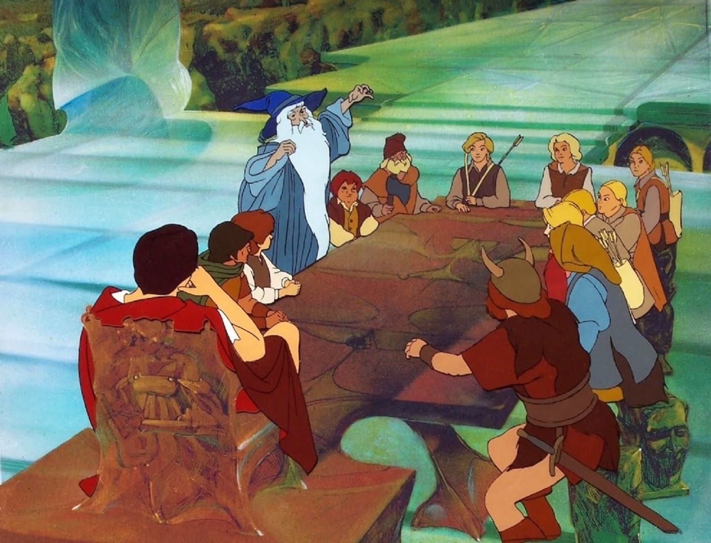 Lord of the rings cartone animato del leganerd