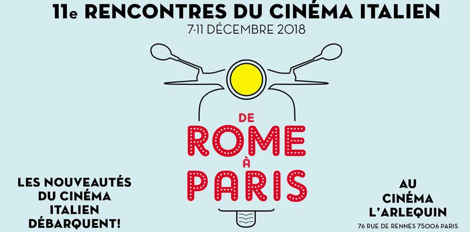 Rencontres du Cinéma Italien 2018 – De Rome à Paris