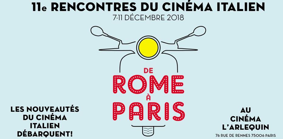 Rencontres du Cinéma Italien 2018 - De Rome à Paris
