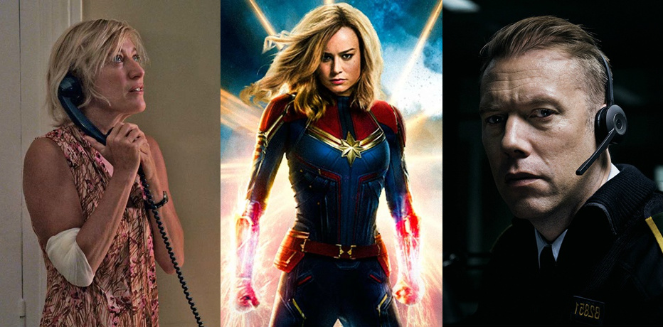 Nelle sale: Captain Marvel, The Guilty, I villeggianti...