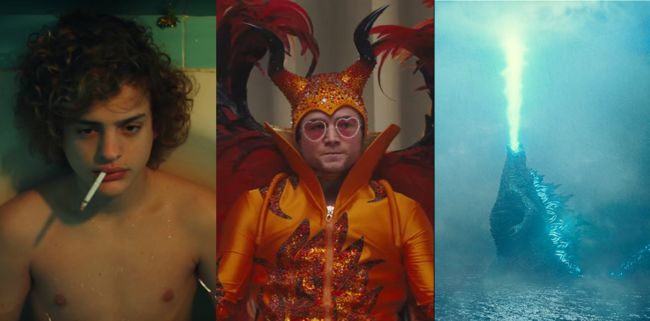 Nelle sale: Rocketman, Godzilla II, Selfie...