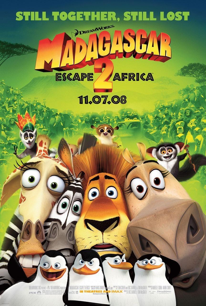 Madagascar 2 – Via dall'isola
