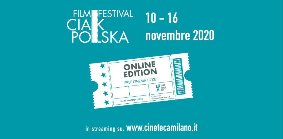CiakPolska Film Festival 2020 - Presentazione