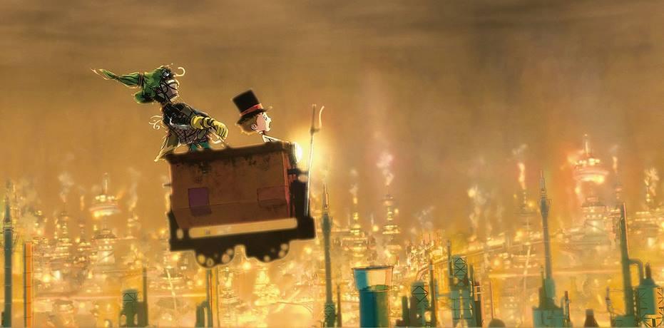 Poupelle of Chimney Town (2020) Yusuke Hirota - Recensione | Quinlan.it